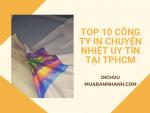 Top 10 công ty in chuyển nhiệt uy tín tại TPHCM - Chuyên in logo lên áo thun, khẩu trang, cặp sách, ốp lưng, ly cốc