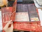 Đặt in menu dán gói bồi formex, in menu chất lượng, mẫu menu đẹp tại Việt Nam Printing