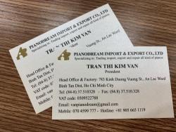 In name card bằng giấy gì?