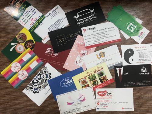 In postcard bằng giấy gì?