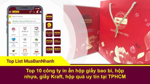 Top 10 công ty in ấn hộp giấy bao bì, hộp nhựa, giấy Kraft, hộp quà uy tín tại TPHCM, 281, Ngân Nguyễn, Chuyên trang cộng đồng In ấn và bao bì của MuaBanNhanh, 23/04/2020 13:39:35