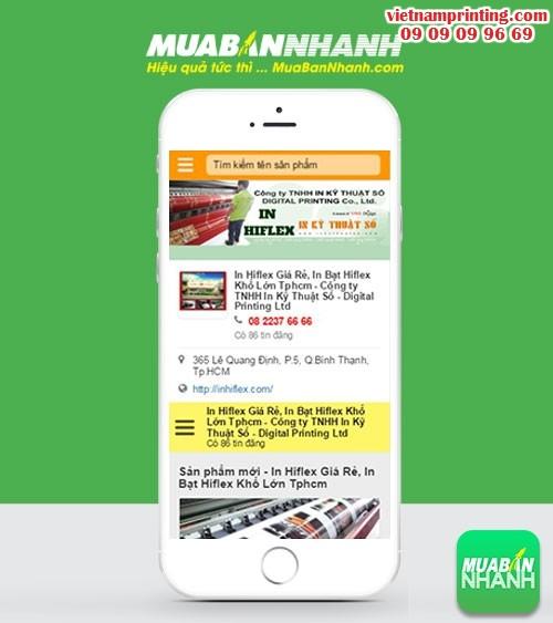 PhonePage - Trang Số Điện Thoại của In Ấn Hiflex, 155, Minh Thiện, VIETNAM PRINTING, 23/04/2016 09:12:28