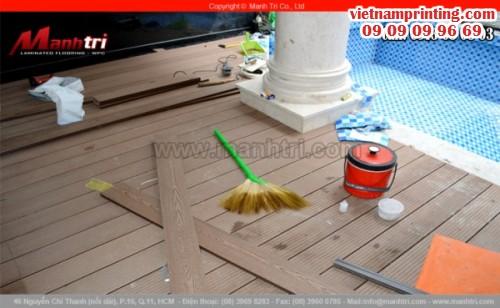 Xây dựng sàn gỗ hồ bơi trong gia đình, 94, Minh Thiện, Chuyên trang cộng đồng In ấn và bao bì của MuaBanNhanh, 06/11/2015 10:42:57