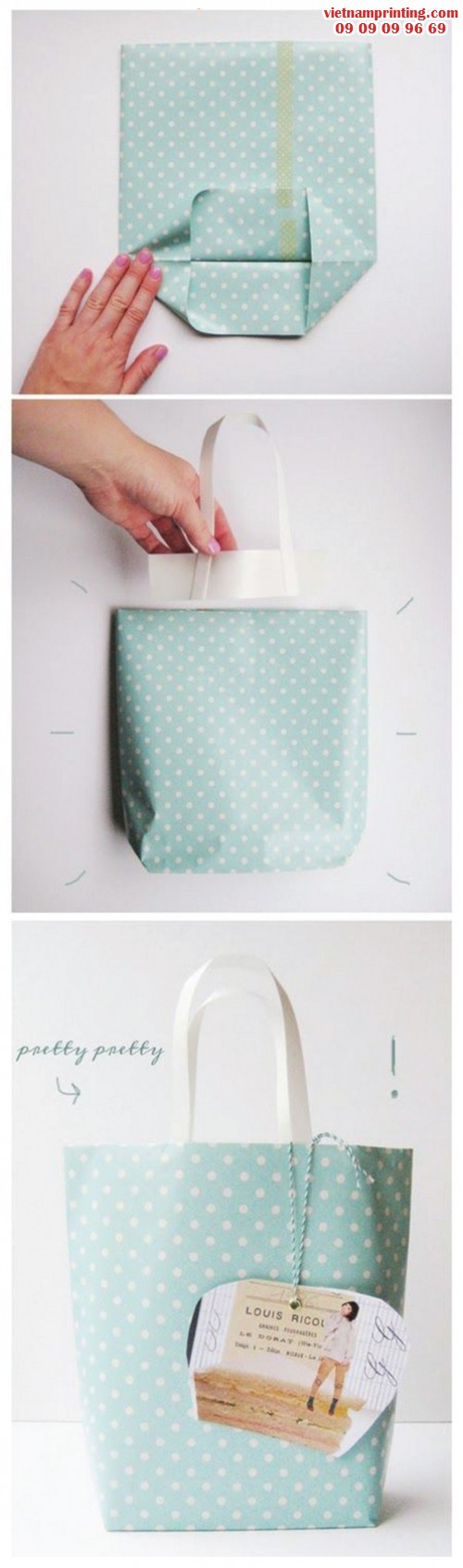 Túi đựng quà từ giấy bao vở